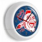 ATLANTA BRAVES MLB BASEBALL TEAM WALL CLOCK MAN CAVE LIVING TV ROOM BOYS BEDROOM