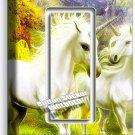 MAGICAL UNICORN SINGLE GFI LIGHT SWITCH PLATE COVER WHIMSICAL FANTASY ROOM DECOR