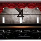 TV ROOM HOME MOVIE THEATER BIG SCREEN TRIPLE LIGHT SWITCH WALL PLATE COVER DECOR