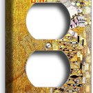 GUSTAV KLIMT ADELE BLOCH GOLD PAINTING DUPLEX OUTLET WALL PLATE ART COVER DECOR