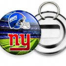 NEW YORK GIANTS FOOTBALL TEAM BEER BOTTLE OPENER KEYCHAIN KEY FOB FAN GIFT IDEA