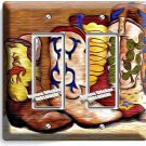 COWBOY BOOTS SOUTHERN AMERICANA DOUBLE GFCI LIGHT SWITCH WALL PLATE WOMENS DECOR