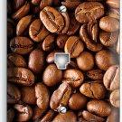 DARK ROAST COFFEE HOUSE BEANS PHONE JACK TELEPHONE WALL PLATE COVER KITCHEN ART