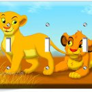 LION KING BABY NALA SIMBA TRIPLE LIGHT SWITCH WALL PLATE COVER DISNEY GIRLS ROOM