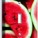 RED WATERMELON SINGLE LIGHT SWITCH WALL PLATE DINING ROOM KITCHEN HOME ART DECOR