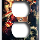 SHERLOCK HOLMES VIOLIN BENEDICT CUMBERBATCH OUTLETS WALL PLATES COVER ROOM DECOR