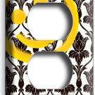 SHERLOCK HOLMES WALLPAPER SMILEY PATTERN OUTLET WALL PLATE COVER HOME ROOM DECOR