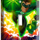GREEN LANTERN SUPER HERO EARTH GUARDIAN RING SINGLE LIGHT SWITCH WALLPLATE COVER