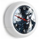 VILLAIN THE JOKER BATMAN SUPERHERO WALL CLOCK BOYS BEDROOM MAN CAVE ROOM DECOR