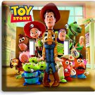 DISNEY TOY STORY 3 ALL WOODY BUZZ T2 LIGHT SWITCH PLATE BOY PLAY ROOM DECORATION