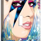 LADY GAGA BEAUTIFUL POP SINGER POSTER SINGLE LIGHT SWITCH COVER WALL PLATE COVER