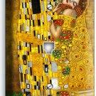 GUSTAV KLIMT THE KISS GOLDEN PAINTING PHONE TELEPHONE WALL PLATE ROOM ART COVER