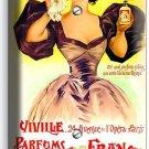 PARIS PERFUME ADD VITAGE POSTER SINGLE PLAIN WALL PLATE COVER BEAUTY SALON DECOR