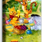 WINNIE POOH TIGGER EEYORE PIGLET PHONE TELEPHONE WALL PLATE COVER BEDROOM DECOR
