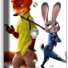 ZOOTOPIA FOX NICK BUNNY RABBIT JUDY PHONE JACK TELEPHONE WALL PLATE COVER DECOR
