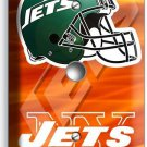 NY NEW YORK JETS NFL FOOTBALL TEAM LIGHT DIMMER VIDEO CABLE WALL PLATE MAN CAVE