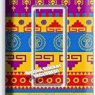 LATIN AMERICAN SOUTHWEST AZTEC SINGLE GFI LIGHT SWITCH WALL PLATE ROOM ART DECOR