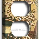 LIVE LAUGH LOVE ELECTRICAL OUTLET WALL PLATE COUNTRY DECOR LIVING ROOM KITCHEN