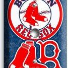BOSTON RED SOX BASEBALL TEAM PHONE JACK TELEPHONE COVER WALL PLATE GARAGE DECOR