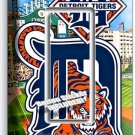 DETROIT TIGERS COMERICA STADIUM SINGLE GFCI LIGHT SWITCH PLATE COVER BOYS ROOM