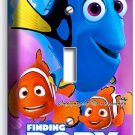 FINDING DORY PINK JELLYFISH NEMO SINGLE LIGHT SWITCH WALL PLATE OCEAN KIDS ROOM
