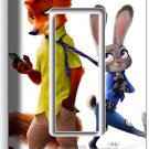 ZOOTOPIA FOX NICK BUNNY RABBIT JUDY GFCI SINGLE LIGHT SWITCH WALL PLATE COVER