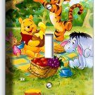 WINNIE THE POOH TIGGER EEYORE PIGLET SINGLE LIGHT SWITCH WALL PLATE COVER DECOR