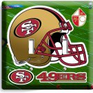 SAN FRANCISCO 49ERS NFL FOOTBALL TEAM LOGO DOUBLE LIGHT SWITCH WALL PLATE COVER