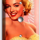 MARILYN MONROE SMILE GOLD DRESS LIGHT DIMMER CABLE WALL PLATE COVER DECORATION