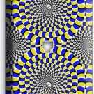 MOVING OPTICAL ILLUSION PHONE TELEPHONE WALL PLATE COVER COOL ROOM HOME NY DECOR
