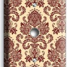VICTORIAN PATTERN SINGLE LIGHT DIMMER CABLE WALL PLATE COVER KITCHEN DINING ROOM