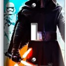 STAR WARS KYLO REN FIRST ORDER STORMTROOPERS SINGLE LIGHT SWITCH WALL PLATE ART