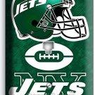 NY NEW YORK JETS FOOTBALL TEAM PHONE JACK TELEPHONE WALL PLATE COVER ROOM DECOR