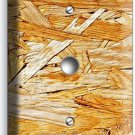 RUSTIC ROUGH PLYWOOD WOOD LOOK LIGHT DIMMER CABLE WALL PLATE KITCHEN ROOM DECOR
