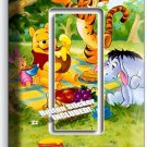 WINNIE POOH TIGGER EEYORE PIGLET SINGLE GFI LIGHT SWITCH WALL PLATE COVER DECOR
