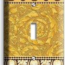 GREEK ROMAN VICTORIAN PATTERN DECORATIVE SINGLE LIGHT SWITCH WALL PLATE COVER