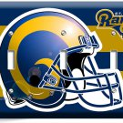 ST LOUIS RAMS FOOTBALL TEAM TRIPLE LIGHT SWITCH WALL PLATE BOYS ROOM MAN CAVE