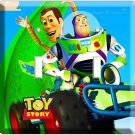 DISNEY TOY STORY 3 RACING WOODY & BUZZ LIGHTYEARS DOUBLE LIGHT SWITCH WALL PLATE