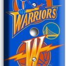 GOLDEN STATE WARRIORS BASKETBALL LIGHT DIMMER/ VIDEO CABLE WALL PLATE BOYS ROOM