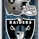 OAKLAND RAIDERS NATION NFL FOOTBALL TEAM LIGHT DIMMER CABLE WALL PLATE ART COVER