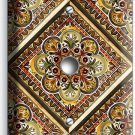 TUSCAN KITCHEN TILE PATTERN PRINT LIGHT DIMMER CABLE WALL PLATE ART COVER DECOR