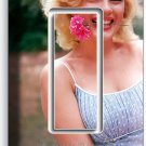 MARILYN MONROE SMILING FLOWER SINGLE GFCI LIGHT SWITCH WALL PLATE COVER DECOR