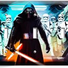 STAR WARS KYLO REN FIRST ORDER STORMTROOPERS TRIPLE LIGHT SWITCH WALL PLATE ART