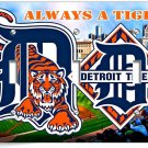 DETROIT TIGERS COMERICA STADIUM TRIPLE LIGHT SWITCH WALL PLATE COVER BOYS ROOM