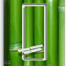 GREEN LUCKY BAMBOO SINGLE GFCI LIGHT SWITCH WALL PLATE ROOM HOME FENG SHUI DECOR