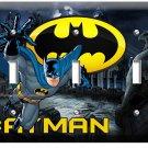 BATMAN FOREVER SUPERHERO TRIPLE LIGHT SWITCH WALL PLATE COVER BOYS BEDROOM DECOR