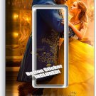 BEAUTY AND THE BEAST PRINCESS BELLE SINGLE GFI LIGHT SWITCH WALL PLATE GIRL ROOM