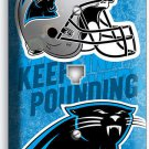 CAROLINA PANTHERS FOOTBALL TEAM PHONE JACK TELEPHONE WALL PLATE COVER MAN CAVE