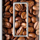 FRENCH ROAST COFFEE BEANS SINGLE GFCI LIGHT SWITCH WALL PLATE COVER HOME DECOR