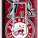 ALABAMA CRIMSON TIDE FOOTBALL SINGLE GFI LIGHT SWITCH WALL PLATE ROOM HOME DECOR